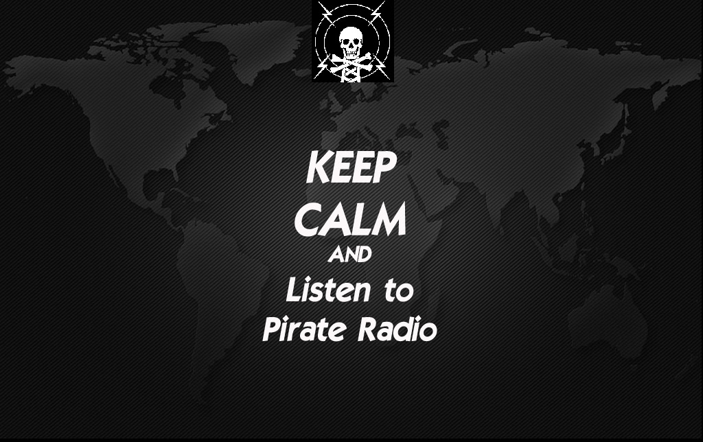 ceep calm pirate radio bg